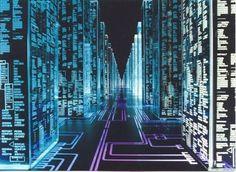 Hackers (movie) - Tron-like aesthetics Internet Art, Internet Memes, Mail Art, Word Art, New Retro Wave, Cyberpunk Movies, Cyberpunk 2020, Cyber Warfare, Software