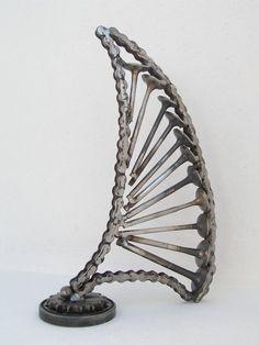 Circle metal sculpture handmade by Giannis Dendrinos Circle Shape, Sculptures, Metal, Artist, Handmade, Hand Made, Sculpting, Craft, Sculpture
