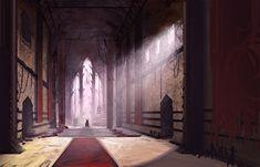 Keith VanZant: Mage stuff and evil throne room Throne room Fantasy city Fantasy castle