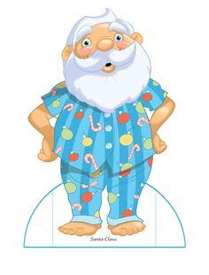 Welcome to Dover Publications Santa Claus Christmas Paper Dolls http://www.pinterest.com/freemous/poupee-papier-noel/