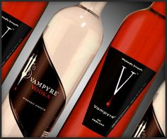 Vampyre Vodka red and white