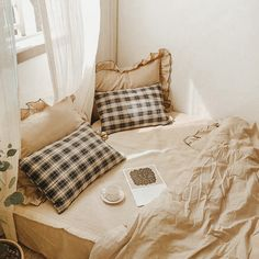 Room Ideas Bedroom, Bedroom Decor, Bedroom Bed, Aesthetic Room Decor, Dream Rooms, My New Room, House Rooms, Home Interior, Cheap Home Decor