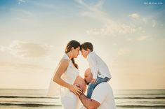 Ensaio gestante na praia | Fotografia de família | Fotografia Jaraguá do Sul | Ensaio praia | Mel Maieski Fotografia