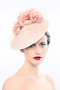Hats Have It: Alexandra Harper Millinery Millinery Hats, Cocktail Hat, Kentucky Derby Hats, Fancy Hats, Royal Ascot, Pink Hat, Love Hat, Bandeau, Mode Style