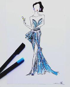 #Marabu #Graphix #Aqua #Pen #Artwork by #Izzy