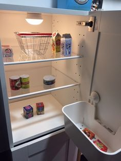 Play fridge to match the DUKTIG play kitchen diy kitchen projects Play fridge to match the DUKTIG play kitchen Play Kitchen Diy, Ikea Toy Kitchen Hack, Kitchen Rack, Play Kitchens, Kitchen Floor, Ikea Toys, Ikea Ikea, Rustic Country Kitchens, Infant Activities