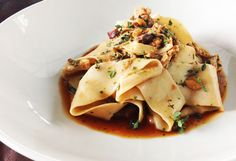 Cafe Sydney's chestnut pappardelle with pork ragu recipe - 9Kitchen