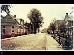 Almeloseweg  in  Vriezenveen.  Twente. Overijssel     Nederland.