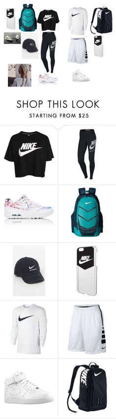 """""""Nike"""" by malaysiasmith21 on Polyvore featuring NIKE and Nike air force"""