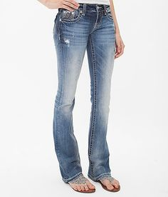 Miss Me Boot Stretch Jean - Women's Jeans in Med 181 Love Jeans, Shoes With Jeans, Miss Me Jeans, Jeans Style, Ripped Jeans Outfit, Jeans Outfit Summer, Cute Country Outfits, Cute Teen Outfits, Buckle Jeans