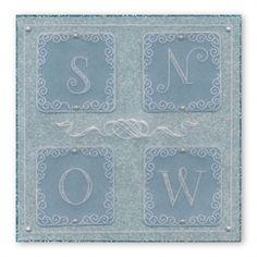 Snow sample by Chris /walker