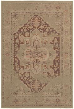 Chloe is a collection of heat-set, machine-made area rugs in soft, romantic shades such as blush, smoky orchid, slate blue and warm copper. Styling is reminiscent of old world vintage looks with simple traditionals and washed transitional pieces.