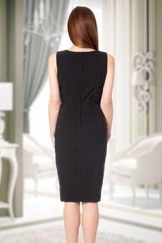 Fever Julia Black Pencil Dress  100 20 13949 6