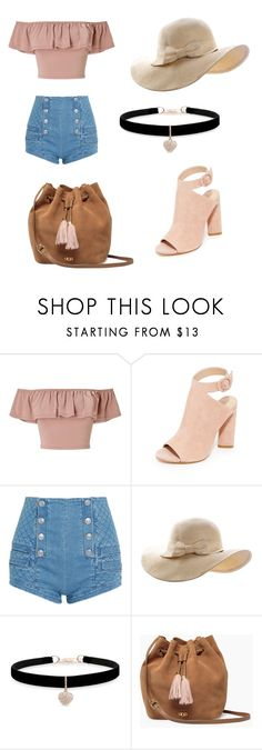 """""""Summer 01"""" by taylor-ross115 on Polyvore featuring Miss Selfridge, Kendall + Kylie, Pierre Balmain, Betsey Johnson and UGG"""