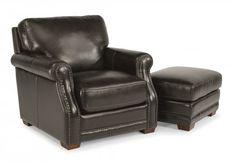 Chandler Leather Chair by #Flexsteel via Flexsteel.com