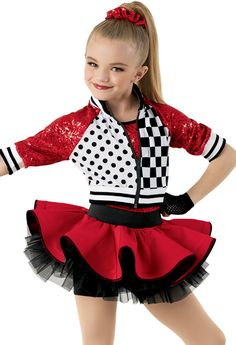 Gorgeous, age-appropriate dance recital costumes for little dance-class beginners. Shop girls' dance costumes and save with studio-exclusive pricing. Dance Recital Costumes, Girls Dance Costumes, Jazz Costumes, Dance Outfits, Dancing Outfit, Look Fashion, Kids Fashion, Lolita Fashion, Spandex Dress