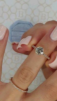Dainty Engagement Rings, Beautiful Engagement Rings, Engagement Ring Cuts, Unconventional Engagement Rings, Tiffany Engagement, Engagement Photos, Bridal Ring Sets, Bridal Rings, Wedding Ring Set