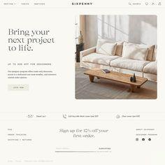 Fonts used: GT Alpina, Pitch Sans, GT Super #typography #design Web Design Trends, Modern Web Design, Homepage Design, Ux Design, Layout Design, Branding Design, Typography Design, Website Layout, Website Design Inspiration