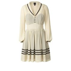 Orla Kiely Silk Georgette Long Sleeve Dress and other apparel, accessories and trends. Browse and shop 8 related looks. Flower Dresses, Day Dresses, Dresses For Sale, Dresses With Sleeves, Midi Dresses, Lovely Dresses, Stylish Dresses, Beautiful Clothes, Short Dresses