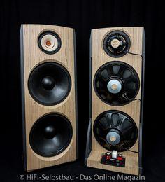 Open Baffle Speakers, Hifi Speakers, Built In Speakers, Hifi Audio, Custom Car Audio, Speaker Box Design, Diy Tech, Online Magazine, Electrical Projects