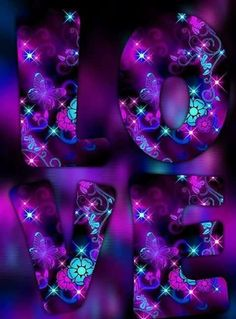 L❤️VE Purple Love, Purple Hues, All Things Purple, Shades Of Purple, Love Images, Love Pictures, Really Cute Quotes, Stylist Tattoos, Pretty Backgrounds