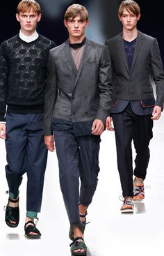 Kolor Spring 2015 Menswear