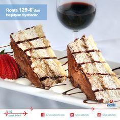 İtalyanlar'ın lezzetliyle ün yapmış tatlısı #Tiramisuyu memleketinde denemeye ne dersiniz?#italya #uçakbileti