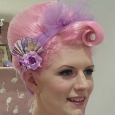 Love this color pink hair!