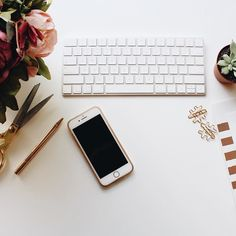 We think having a decorative desk and stationary can make all the difference in the office.  If you're looking for ways to improve your flat lays we have a NEW video showing 5 easy tips to take your flat lays to the next level  Don't forget to watch it on our Facebook page!