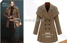 Fashion Winter Clothing Skirt Pendulum Double Breasted Woolen Wool & Blends | Buy Wholesale On Line Direct from China