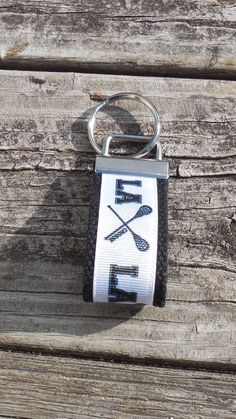 #Lacrosse #Mini #Key #Holder Key Ring Key Fob by GabbysQuiltsNSupply, $2.50
