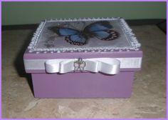 """caixa MDF """"Borboleta"""""""