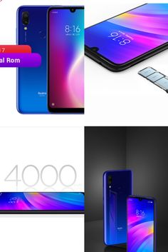 """$120.99 - 145.99  6.26"""" HD+ with Dot Drop display 19:9 aspect ratio 4000mAh (typ) high-capacity battery Two-day battery life* 12MP + 2MP rear dual camera 8MP selfie camera Qualcomm® Snapdragon™ 632 High-efficiency octa-core performance Sleek curved back cover Stylish gradient design 2+1 card slot design Supports up to 512GB expandable storage  #xiaomi #redmi #redmi7 Smartphones For Sale, Aspect Ratio, Dots, Samsung, Iphone, Cards, Design, Stitches"""