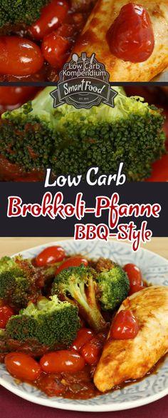 Low-Carb Rezept Brokkoli-Pfanne BBQ-Style mit Kirschtomaten & Hähnchenbrust. Pfannengerichte sind immer unglaublich praktisch – alles rein in die Pfanne, braten, fertig, lecker   So ein schnelles und wirklich schmackhaftes Low-Carb Pfannenrezept haben wir heute wieder für dich, die Brokkoli-Pfanne BBQ-Style mit Kirschtomaten & Hähnchenbrust. Das angenehm leichte BBQ-Aroma dieses Rezeptes wird dich begeistern   Und nun wünschen wir dir viel Spaß beim Nachkochen, LG Andy & Diana.