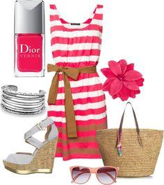 Pretty in Pink, created by malmae on Polyvore