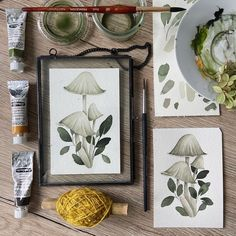 """Emilie Vermeulen Designs on Instagram: """"Live Session on these cuties today I might do a live session once or twice a month, what would you like to paint with me? Tell me in the…"""" Live, Frame, Design, Painting, Instagram, Decor, Picture Frame, Decoration, Painting Art"""