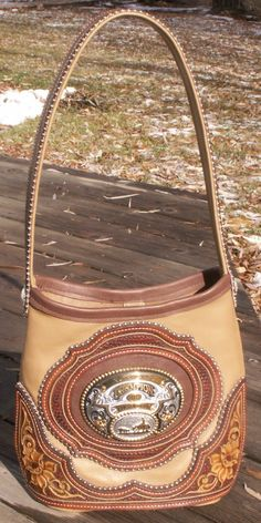 Custom Western inspired Leather Handbags wallets etc Denice Langley Leather Carving, Leather Tooling, Leather Purses, Leather Handbags, Leather Bag, Tooled Leather, Leather Totes, Leather Backpack, Buckle Bags