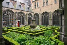 Kruidentuin Abdij in Middelburg