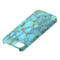 Turquoise Pattern Phone Case Cover For iPhone 5/5S