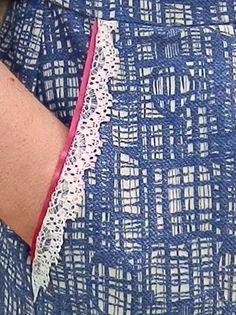 Sally's entry (Simplicity dress) - pocket detail