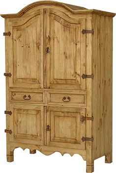Cozy Rustic Wood Armoire Rustic Wood Armoire - This Cozy Rustic Wood Armoire ideas was upload on December, 23 2019 by admin. Here latest Rustic Wood Armoire ideas collection. Solid Pine Furniture, Rustic Pine Furniture, Mexican Pine Furniture, Pine Bedroom Furniture, Western Furniture, Rustic Wood, Furniture Ideas, Furniture Buyers, Dream Furniture