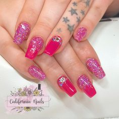 💖Hot Pink & Glitter Acrylic Nails💖 @cndworld Acrylic L&P @swarovski Crystals @neglakademiet Lecente Glitter @cndworld Shellac in Pink Bikini @hannedovikhair • • • • • #Californianails #nails #negler #naglar #Ølen #vindafjord #norge #norway #nailart #nailinspo #hotpink #hotpinknails #swarovski #swarovskicrystals #swarovskinails #acrylic #acrylicnails #glitter #glitternails #lecenteglitter #coffinnails #ballerinanails #fiercenails #cndshellac #shellac #shellacnails #pronails #nailpro… Hot Pink Nails, Pink Acrylic Nails, Glitter Acrylics, Swarovski Nails, Swarovski Crystals, Pink Glitter, Glitter Nails, California Nails, Lecente Glitter