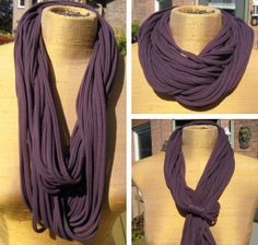 How to make a scarf from a t shirt