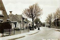 Lage Heereweg met benzinepomp van C.Honderd.