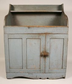 Early dry sink in original grey paint.  google.com