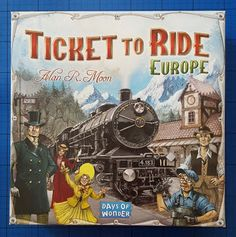 The Brick Castle: Ticket To Ride: European Edition Family Game Review And Giveaway...