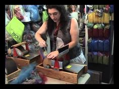 How to make striped batts.....the Jazzturtle method - YouTube