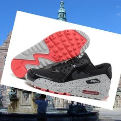 Star series-Nike Air Max 90 Lady Black light grey Running Shoes HOT SALE! HOT PRICE!