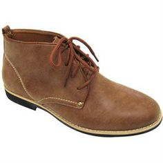 Norman Brown Men's Vegan Ankle Boot