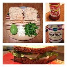 """The """"T.J. Special"""" (vegan variation) - So good, I literally have it every day.  Minimal ingredients, inexpensive, and super healthy.  Delicious even without the optional veganaise and texas pete (however, I eat very little without texas pete) :) #food #meals #vegan #veganism #health #diet #texaspete"""